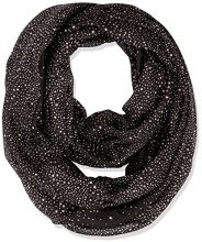 PIECES Pcrosemary Tube Scarf Pb, Sciarpa Donna, Multicolore (Black), Taglia unica
