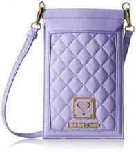 Love Moschino JC5300, Borse a Tracolla Donna, Viola (Lavender), 13x40x37 cm (B x H x T)
