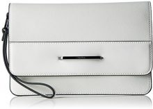 Calvin Klein HEATH3R Clutch, Sacchetto Donna, Bianco (Powder White), 2x17x25 cm (b x h x t)