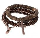 ROSAY 3 PACK - Bracciale - brown