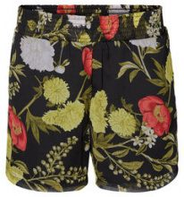 VERO MODA Flower Shorts Women Black
