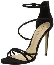 Office Harness W, Scarpe con Cinturino Alla Caviglia Donna, Black (Black), 40 EU