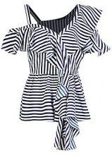 Frances Deconstructed Stripe Top