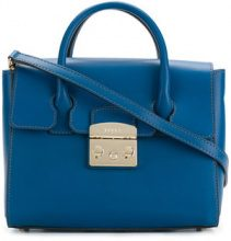 Furla - Metropolis tote - women - Leather - One Size - BLUE