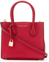 Michael Michael Kors - small Mercer tote - women - Leather - OS - RED