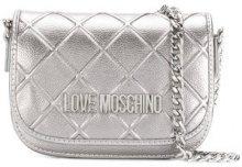 Love Moschino - Borsa a spalla - women - Polyurethane - OS - METALLIC