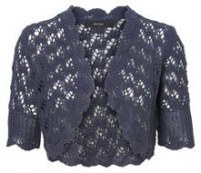VERO MODA Knitted Bolero Women Blue