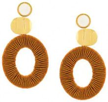 Lizzie Fortunato Jewels - Orecchini a cerchio - women - metal - OS - YELLOW & ORANGE