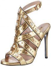 CarvelaGoldie NP - Scarpe Peep Toe Donna, Oro (Oro (Gold)), 36