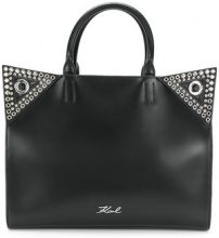 Karl Lagerfeld - Rocky Choupette shopper tote - women - Leather - One Size - BLACK