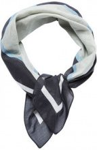 SELECTED Silk Mix- Scarf Women Blue