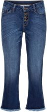 Jeans cropped svasato (Blu) - RAINBOW