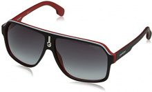 Carrera 1001/S, Occhiali da Sole Unisex Adulto, Nero (Red Black), 62