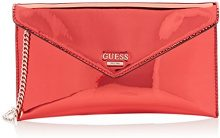 Guess Hobo, Borsa a Tracolla Donna, Rosso (Red), 1x15x25.5 cm (W x H x L)