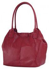 Tom Tailor Acc MIRIPU 10990 Borsa Shopper Donna 44x28x18 cm (B x H x T), Rosso (Rot (wine 48))