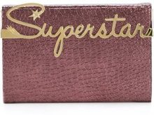 Charlotte Olympia - 'Superstar Vanity' clutch - women - Calf Leather - OS - PINK & PURPLE