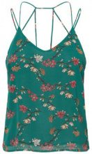 VERO MODA Flower Singlet Women Green