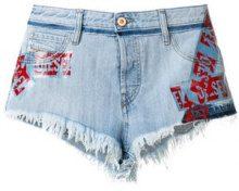 Diesel - Shorts in denim 'De-Scotch' - women - Cotone/Polyurethane - 28, 29 - BLUE
