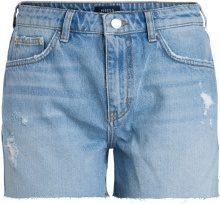 PIECES Low Waist Boyfriend Shorts Women Blue