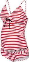MAMA.LICIOUS Striped Tankini Women Red