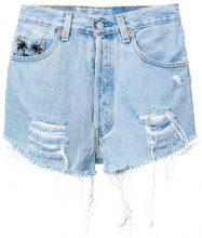 Chiara Ferragni - 1987 denim shorts - women - Cotton - S, M - BLUE