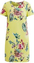 VILA Simple Short Sleeved Dress Women Yellow