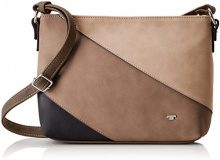 Tom Tailor Acc Carina Donna Borse a tracolla Beige (Taupe) 5x20x29 cm (B x H x T)