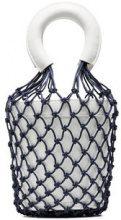Staud - Borsa a secchiello con rete - women - Leather - OS - WHITE