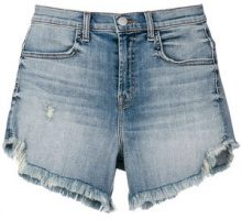 J Brand - Shorts in denim - women - Spandex/Elastane/Cotton - 24, 26, 27, 25, 29, 28, 30 - BLUE