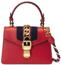 Gucci - Mini borsa Sylvie in pelle - women - Leather/Suede/Nylon/metal - One Size - RED