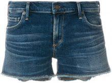 Citizens Of Humanity - Shorts denim - women - Cotone/Spandex/Elastane - 30 - BLUE