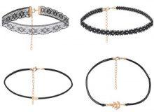 Set di 4 bracciali trendy