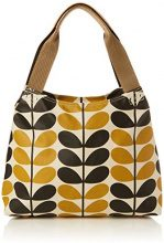 Orla KielyClassic Zip Shoulder Bag - Borse a Tracolla donna , Classic Zip Shoulder Bag, giallo