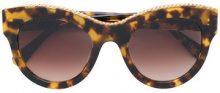 Stella Mccartney Eyewear - Occhiali da sole cat-eye tartarugati - women - Acetate - One Size - BROWN