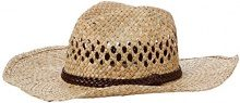 New Look Cowboy PU Band, Cappellopello Donna, Beige (Stone), Taglia unica