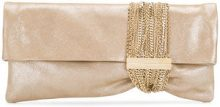 Jimmy Choo - Chandra clutch - women - Acrylic - One Size - METALLIC