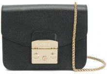 - Furla - mini Metropolis shoulder bag - women - pelle - Taglia Unica - di colore nero