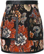 Stella McCartney - Minigonna in tessuto jacquard 'Gemma' - women - Acrylic/Polyester/Viscose - 38 - BLACK