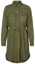 VERO MODA Shirt Dress Women Green