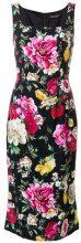 Dolce & Gabbana - Vestito aderente a fiori - women - Viscose/Silk/Spandex/Elastane - 42, 44, 38, 40, 46 - Nero