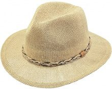 Barts Gamble Hat Cappello Panama, Donna, Beige, One Size
