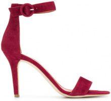 Via Roma 15 - Sandali con cinturino - women - Leather/Suede - 36, 37, 39, 40 - RED