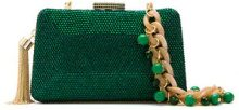 - Serpui - embellished clutch - women - Polyester - OS - Verde