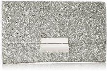 ESPRIT 038ea1o040 - Pochette da giorno Donna, Argento (Silver), 3x13x22 cm (B x H T)