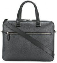 Salvatore Ferragamo - Borsa per PC - women - Calf Leather - One Size - Grigio