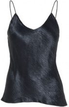 J.LINDEBERG Chico Metallic Drapy Sleeveless Top Women Blue