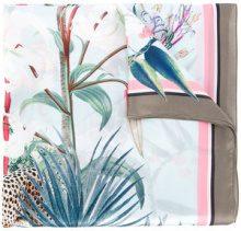 Marc Cain - long printed scarf - women - Silk - OS - MULTICOLOUR