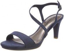 Tamaris 28318, Sandali con Cinturino alla Caviglia Donna, Blu (Navy), 36 EU