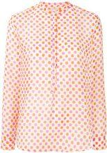 Massimo Alba - Violet shirt - women - Cotton/Silk - 40, 42 - WHITE