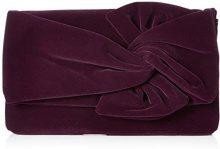 Gerry Weber Velvet Dreams Clutch Mhz 1 - Pochette da giorno Donna, Rot (Burgundy), 2x16x27 cm (B x H T)
